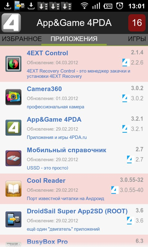 4Pda.Ru Android Readitlater