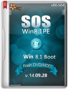 SOS_Win-8.1.17031_Boot_Flash_DVD_HDD-1409 by Lopatkin (2014) Русский